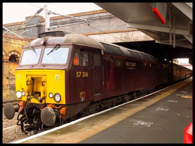 West Coast Railways 57 316