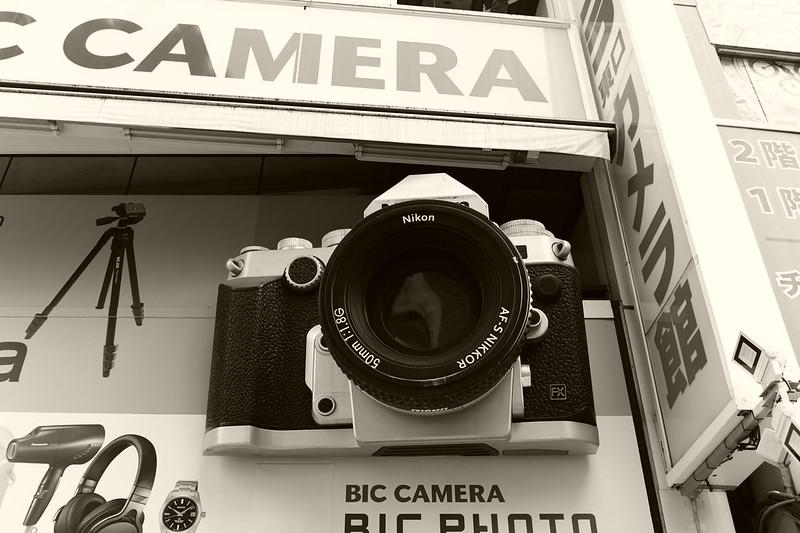 45Leica M9 P+Voigtlandar NOKTON Classic SC 35mm f1 4池袋東口ビックカメラカメラ館のNikon Df