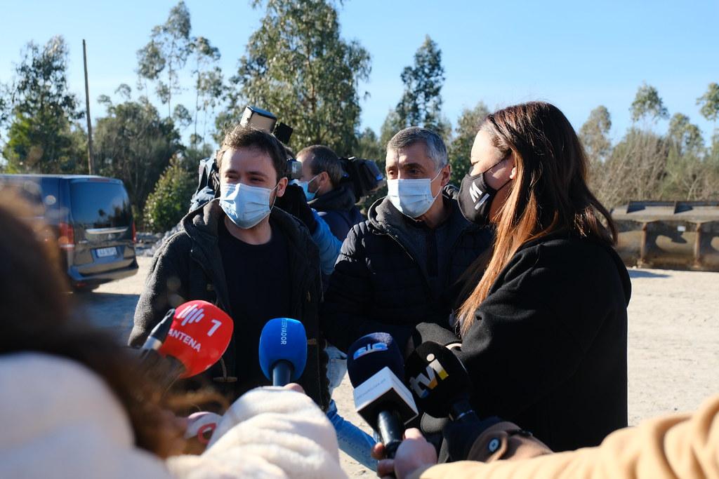 Encontro com trabalhadores da pedreira de Peroselo, Jan 2021