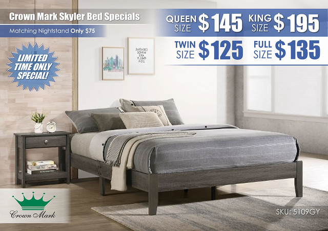 Skyler Bed Specials_5109GY