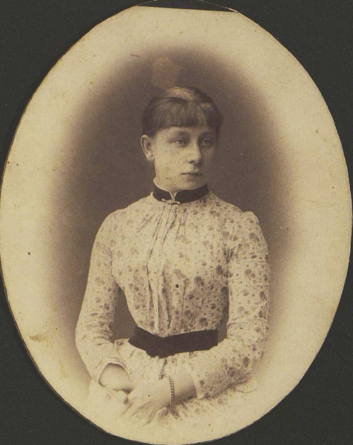 Маслова Елизавета Николаевна. 1880-е