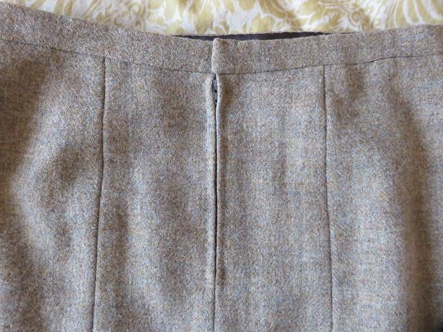 Vogue 8045 hand picked zipper