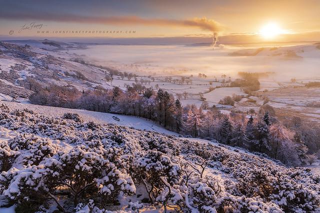 Woodseats Winter Sunrise