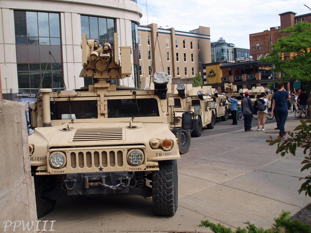 Michigan National Guard Downtown GR