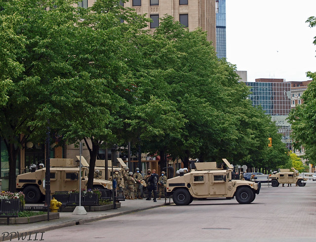 Michigan National Guard @ GRPD