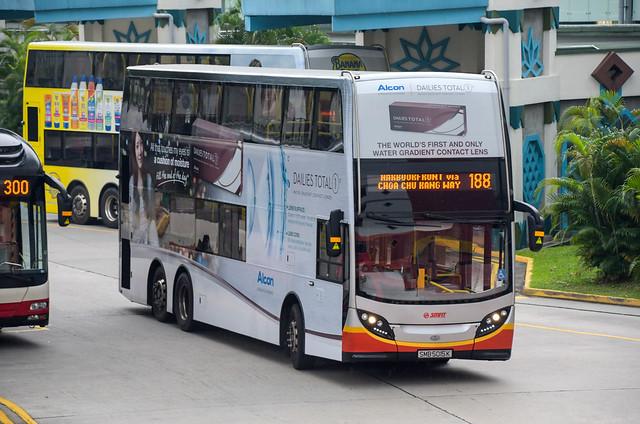 SMRT Buses Alexander Dennis Enviro500