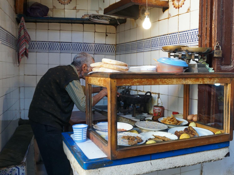 fes medina street food
