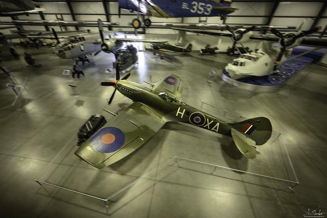 Supermarine Spitfire FR.XIVe 'MT847 / AX-H' in Pima Air & Space Museum - Tuscon - Arizona - USA