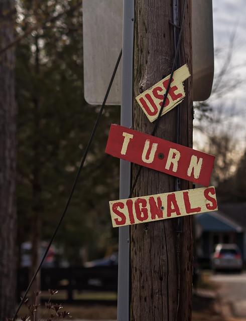 Use Turn Signals
