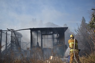 Reseda Wind-Driven Vegetation and Structure Fires Threaten Homes