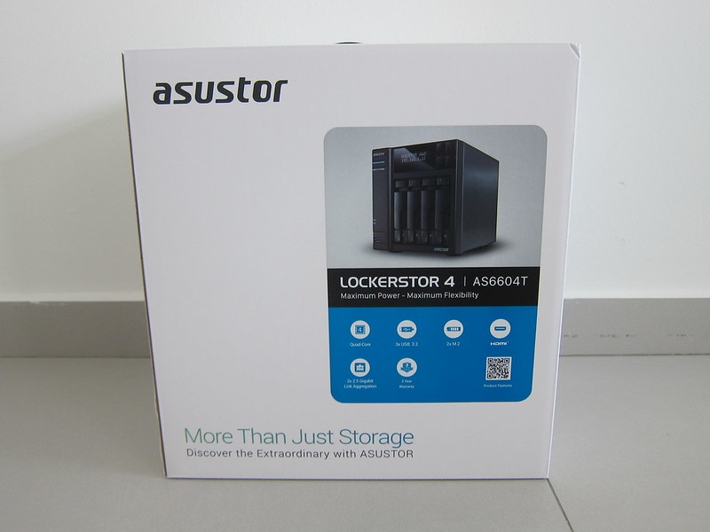 ASUSTOR AS6604T - Box Front