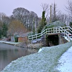 Icy down by the canal at Preston