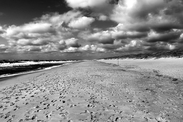 Sylt - alleine am Strand