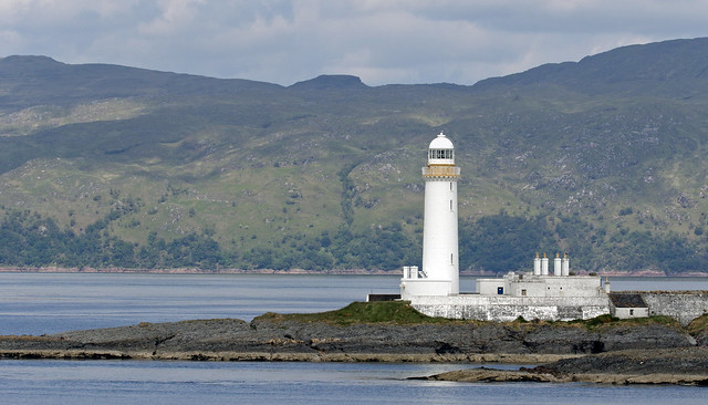 Lismore Lighthouse, Eilean Musdile, Inner Hebrides.