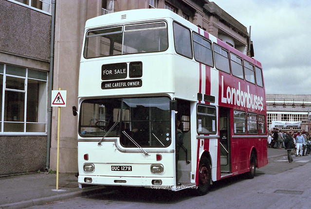 London Transport MD127 OUC 127R