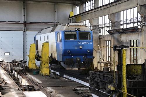 65-0990 at Satu Mare Depot.