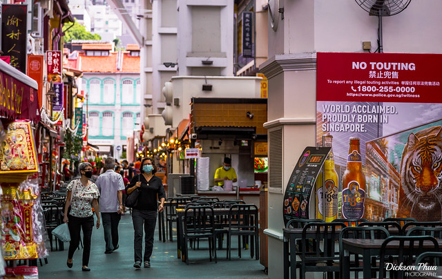 No more touting in a quieter Chinatown