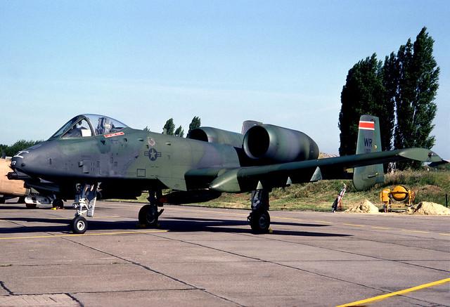 79-0217 WR rw A-10A USAFE 81TFW 78TFS 900624 Bierset 1001