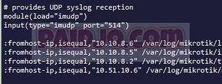 Logrotate Rsyslog Server