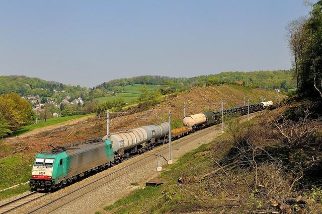 Gemmenich, B-Cargo 2807