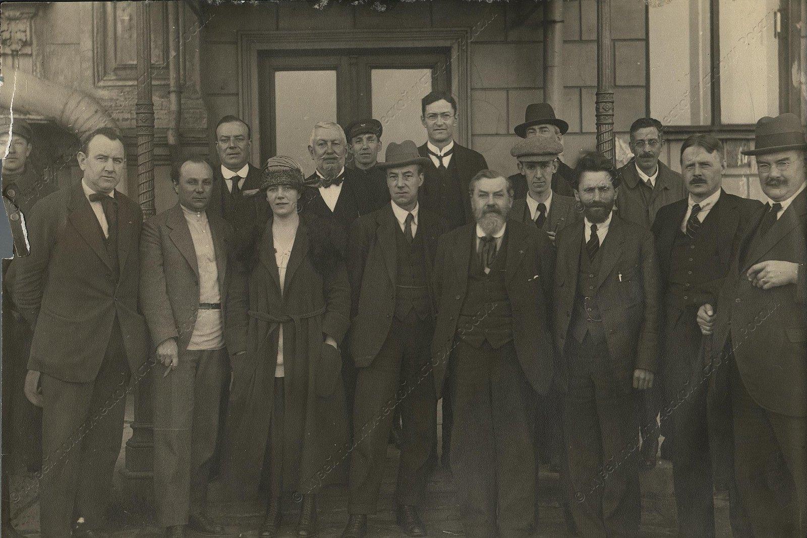 1920. Первая английская делегация в Петрограде