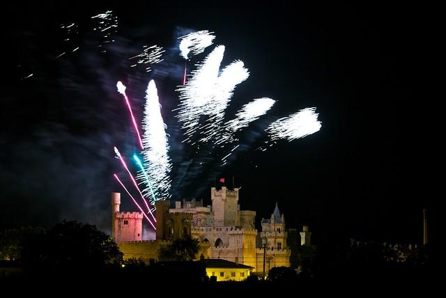 Los fantasmas salen del castillo