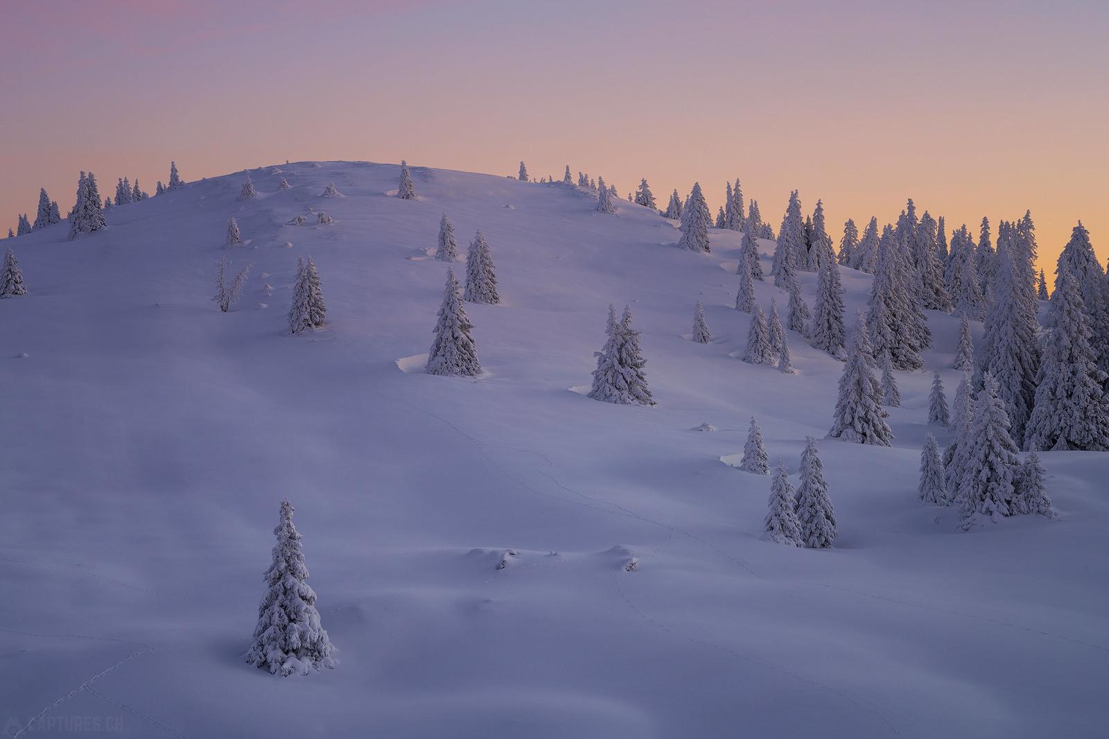 Frozen hill - Jura