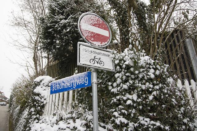 Winter-Signalisation
