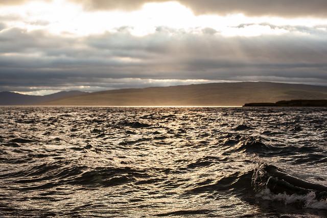 Rough Seas, Scotland