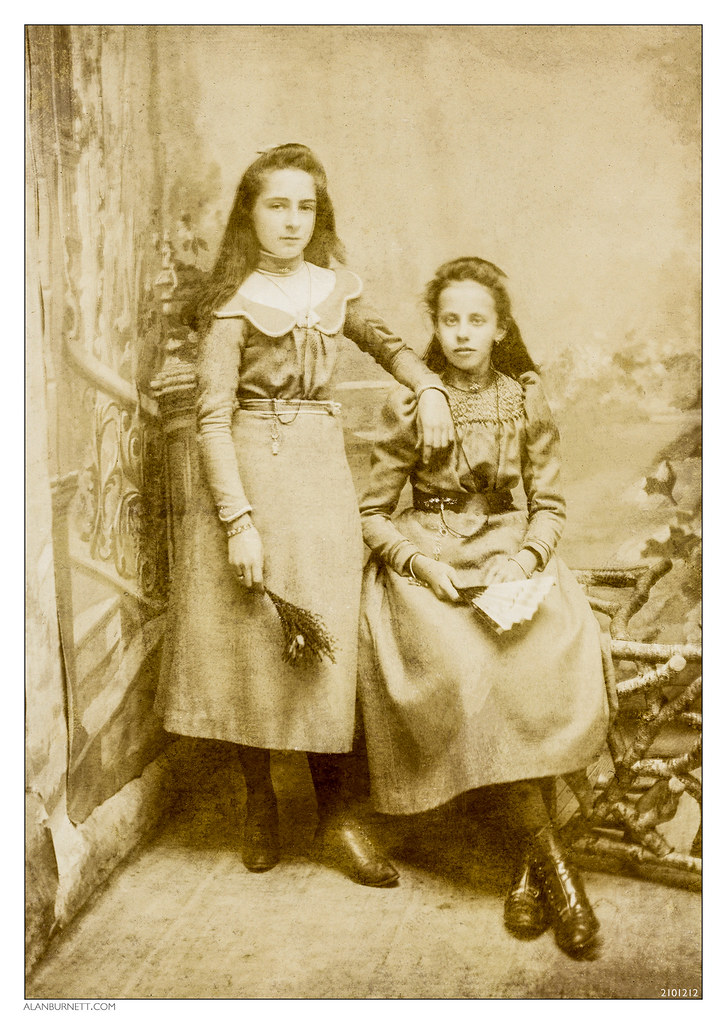 Two Victorian Girls