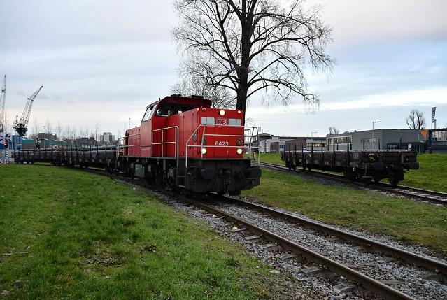 DBC 6423 op Waalhaven Oostzijde