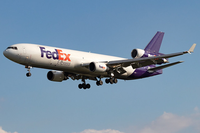 N619FE FedEX Express MD-11F London Stansted Airport