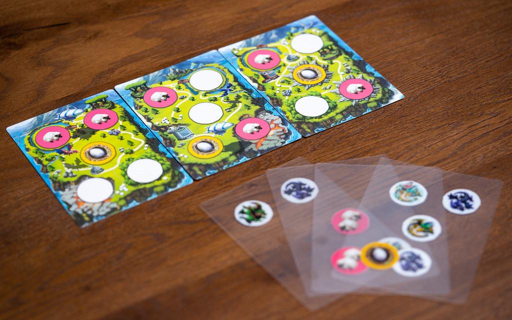 Dragon Parks boardgame juego de mesa