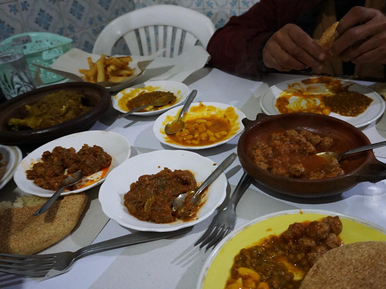 Fes medina food
