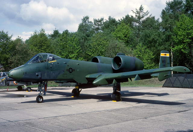 80-0145 WR yw A-10A USAFE 81TFW 92TFS 870516 Eindhoven 1001