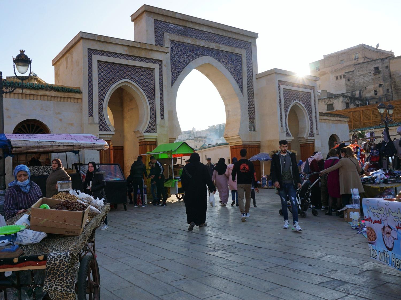 Fes Medina gate