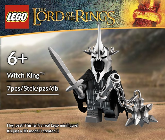 Witch King Minifigure