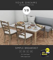 {YD}  Simple breakfast