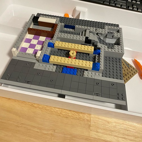 After a challenging few weeks mentally and physically I made it back into my LEGO room and started the police station. Seems weird to not have rsi from tiling like normally happens with modulars! 🔥🔥 Follow me on YouTube 🔥🔥 https://yout | by GJBricks