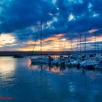 17. Jaanuar 2021 - 10:15 - Amanece en el puerto nuevo de Luanco.