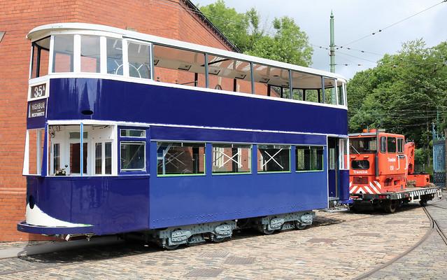 Trams: London Transport: 1 Crich Tramway Village