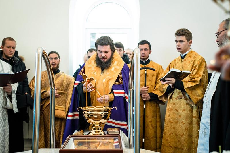 16-17 января 2021, Освящение баптистерия/ 16-17 January 2021, Consecration of the Baptistery