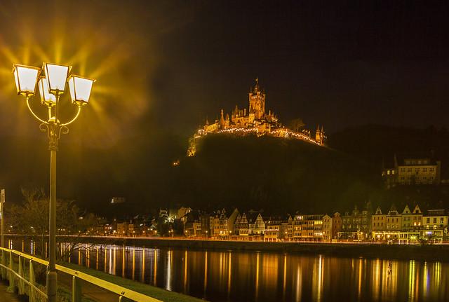 Nachtstimmung in Cochem/Mosel