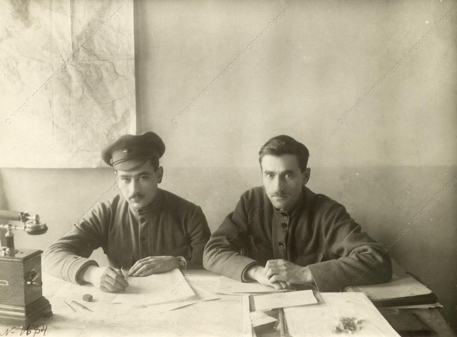 1921. Штаб Южной группы Кронштадтского фронта.