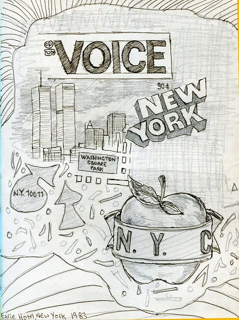 New York City Doodles by PM Wright