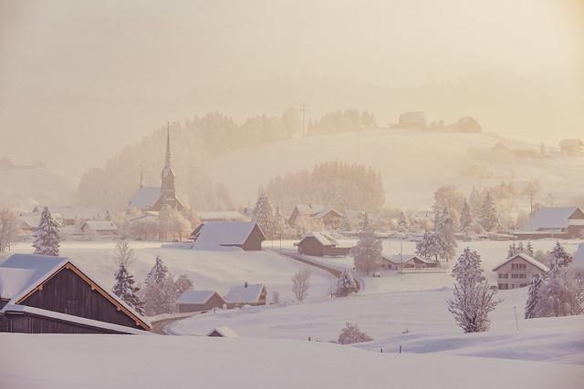 Morning - Bennau, Switzerland