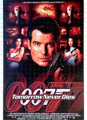 Movie Poster:  Tomorrow Never Dies (500pcs)