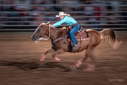 Barrel Racer | by DaveWilsonPhotography