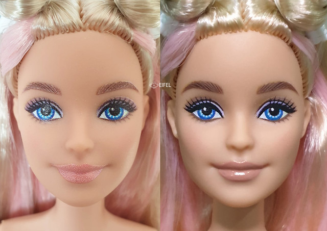 repaint Barbie Extra Dolls 2020 and friends