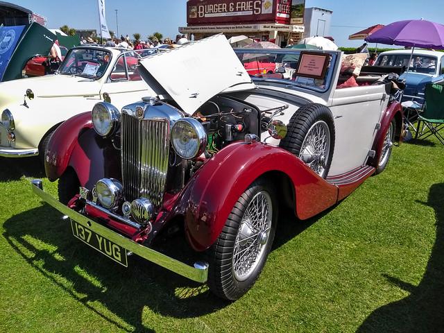 1937 MG VA Tickford 137 YUG